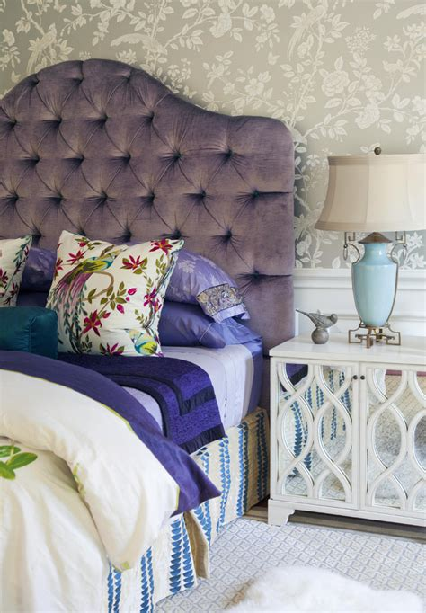 schlafzimmer bunt schlafzimmer kopfteil bunt gepolstert aequivalere