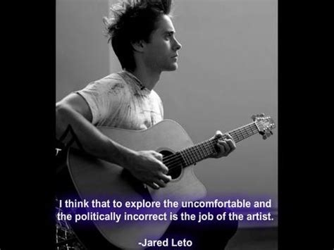 famous actors jared actor jared leto quotes sayings artist work witty