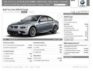 How Much Does A Bmw M3 Cost Bmwusa 2008 Bmw M3 Configurator Now Available
