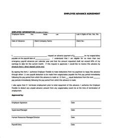 Employee Loan Agreement Template Free by Employee Loan Agreement Template 5 Best Images Of
