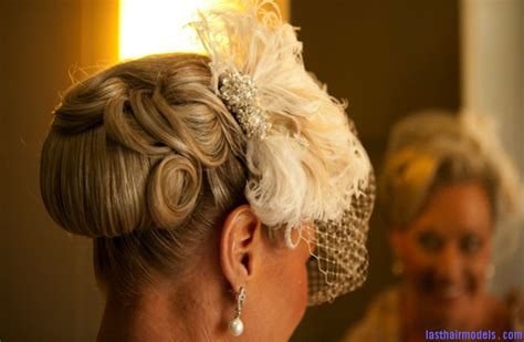 Vintage Wedding Hairstyles 2012 by Retro Wedding Hairstyle Finger Roll Updo Full Carousel
