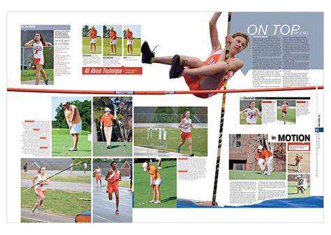 yearbook layout ideas for sports 2013 high school award winning yearbook discoveries
