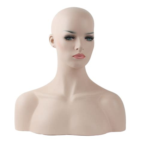 Realistic Mannequin Heads | aliexpress com buy realistic wig mannequin head bust