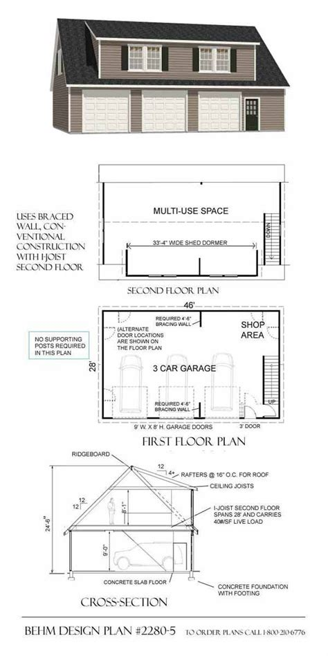 Large Shed Plans With Loft