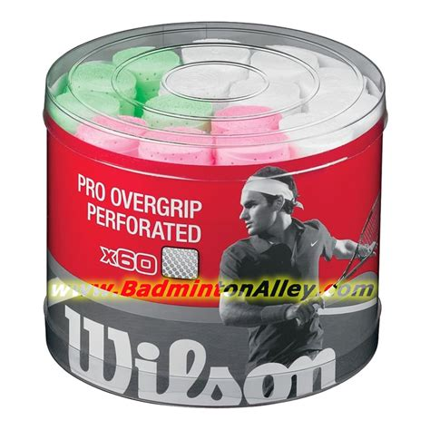 Grip Wilson Pro Overgrip Overgrip Wilson Grip Lapis Wilson Ori wilson pro overgrip perforated 60pcs assorted colors