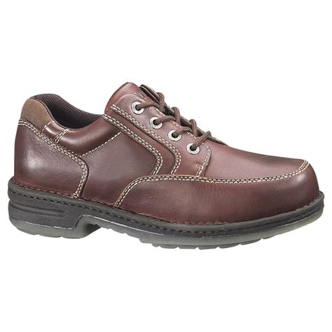 wolverine oxford shoes s wolverine 174 steel toe electrical hazard durashocks