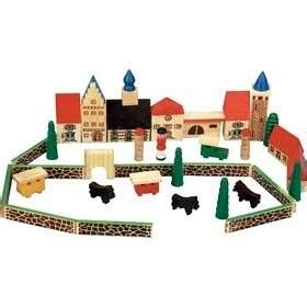 wooden toy town amazoncouk toys games