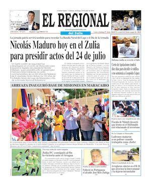 regional del zulia 2016 calam 233 o el regional del zulia 24 07 2016