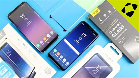 3 samsung s8 top 3 samsung galaxy s8 s8 plus screen protectors