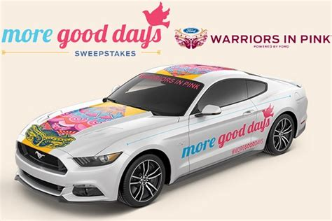 ford warriors in pink more good days sweepstakes sweepstakesbible - Warriors In Pink Sweepstakes