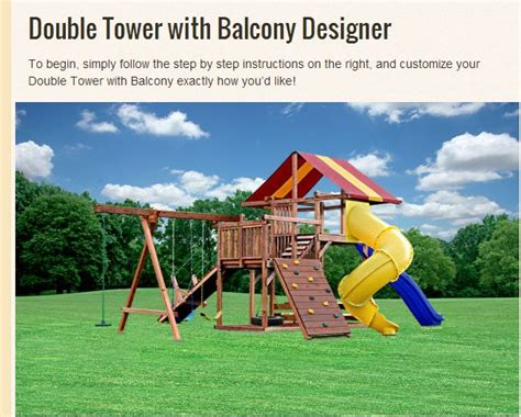 swing set online 17 best images about design your own swing sets online on