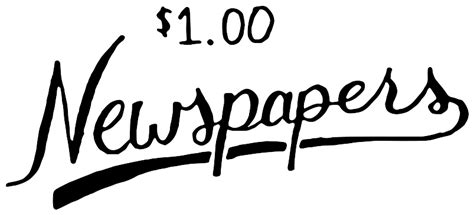 Newspaper Clipart 2366 Free Clipart Images Clipartwork Newsprint Clipart