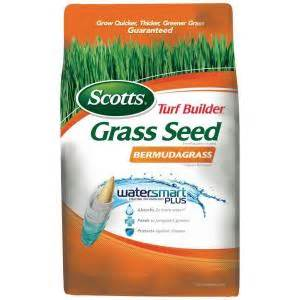 home depot seeds scotts turf builder 1 lb bermuda grass seed 18350 the