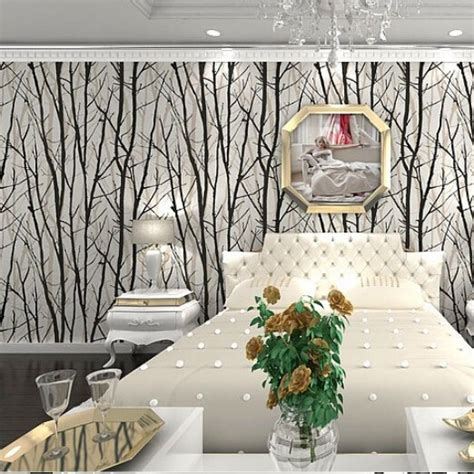 Tree Design Wallpaper Living Room by Paper Holder For Office Picture More Detailed Picture