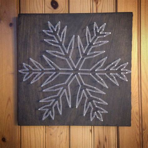 String Snow String Semprot Jaring snowflake string winter signs sign home