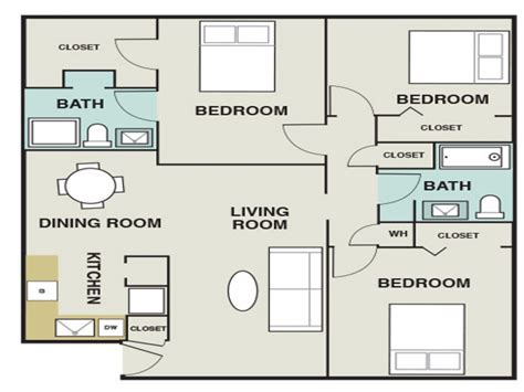 1200 square foot apartment 3 bedroom 1200 sq ft house plans 3 bedroom apartments map