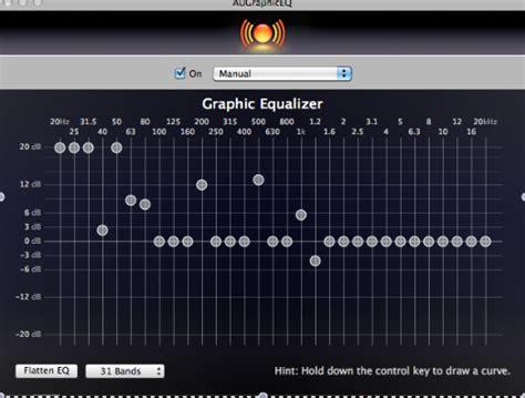Garageband Eq The Garageband Producer Using Garageband S Graphic Equalizer