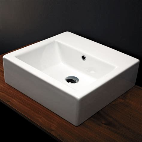 Modern Bathroom Sinks Pictures Aquamedia Washbasin In Wall Mount Vessel Washbasins