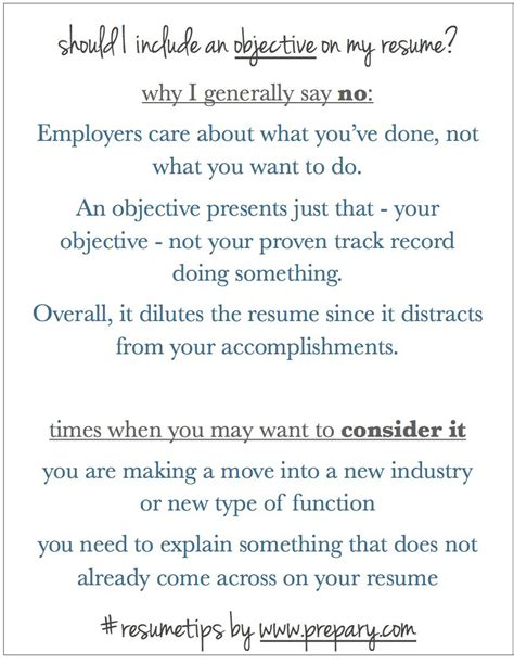 What Is The Objective Of A Resume by Should I Include An Objective On My Resume Is An Objective Necessary