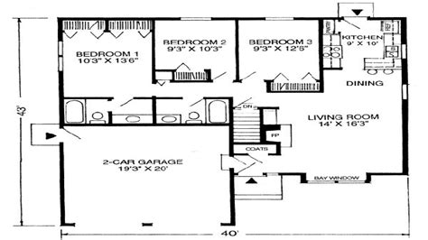 floor plans for 1100 sq ft home that houses a 1600 square feet 1100 square feet house