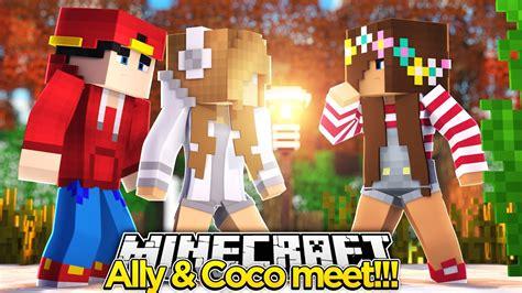 coco adventure minecraft adventure little ally coco meet awkward