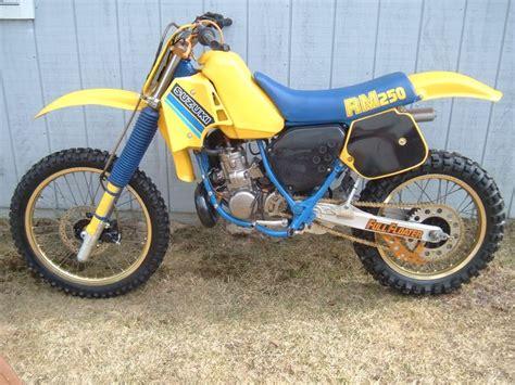 1985 Suzuki Rm250 1985 Rm 250 Classic Dirt Bikes