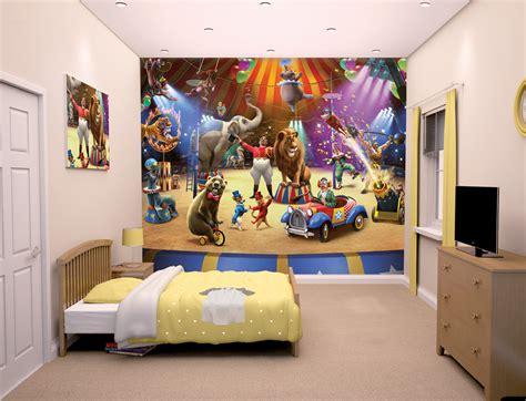 circus performers bedroom wallpaper mural ft  ft walltastic