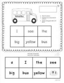 1000 images about preschool sentence building on