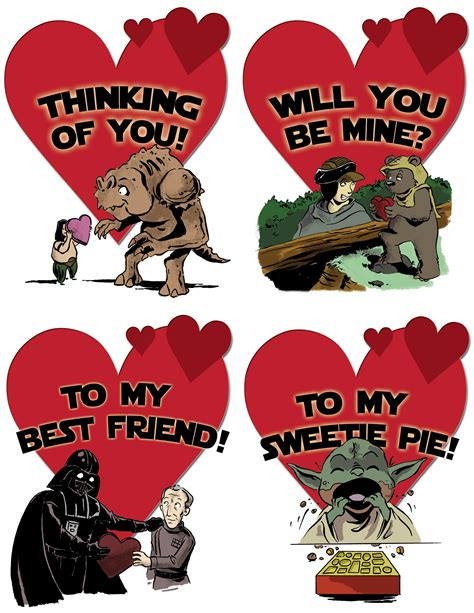 valentines day wars wars card ideas day cards