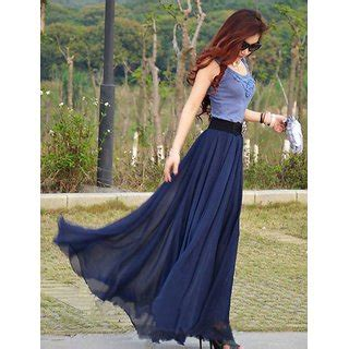 Rosella Maxi buy rosella navy blue georgette maxi skirt get 63