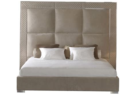 high headboard beds aura bed with high headboard rugiano milia shop