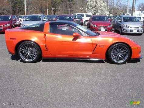 inferno orange metallic 2011 chevrolet corvette z06 exterior photo 63144637 gtcarlot