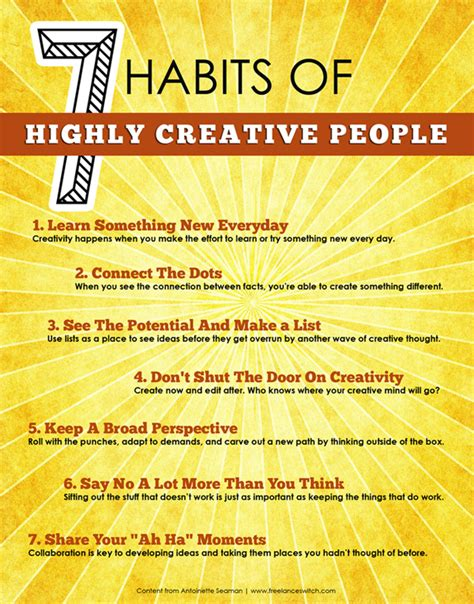 Best Site To Find Peoples Address 7 Habits Of Highly Creative The Creative Stack