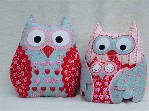 Patchwork Owl Cushion Pattern - 61 best patterns images on chain is