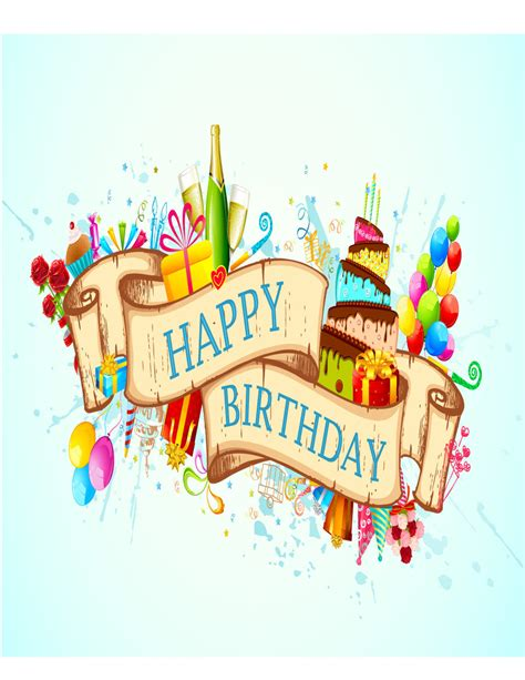 free birthday template 40 free birthday card templates template lab