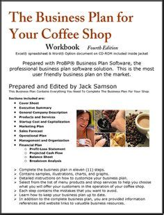 coffee shop business plan template the coffee shop business plan how to open a coffee shop