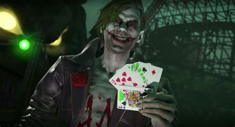 imagenes de joker injustice injustice 2 joker trailer reveals the batman villain