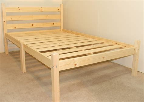 Somerset Bed Frame Somerset 4ft Small Solid Pine Heavy Duty Bed Frame