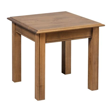 crafted tables chippendale occasional end table amish crafted furniture