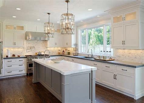 pale grey kitchen cabinets best 25 grey kitchen island ideas on pinterest gray