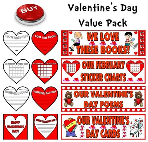 7 Plans For The Valentines Day by S Day Teaching Resources Lesson Plans For