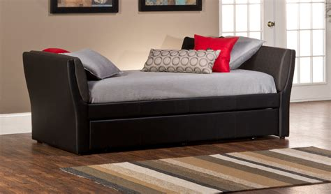 Black Daybed With Trundle Furniture Black Iron Daybed With Pop Up Trundle Idea Cozy Black Daybed With Trundle Designs