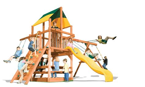 kids playhouse swing set playhouse 5 a woodplay playsets