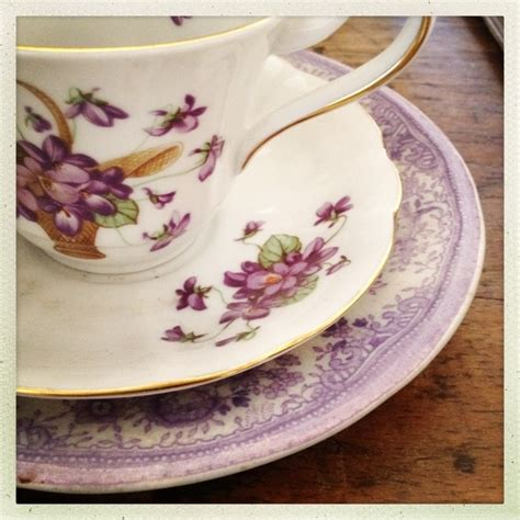 Set Floral Tea Cup Saucer Teaspoon 244 best images about violet teacups on