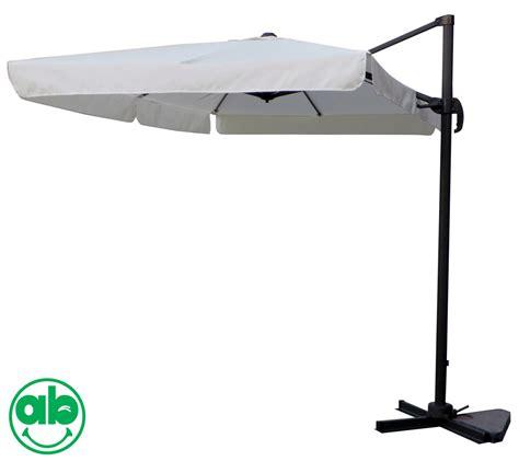 ombrelloni decentrati da giardino top copertura di ricambio per ombrelloni decentrati 3x2 mt