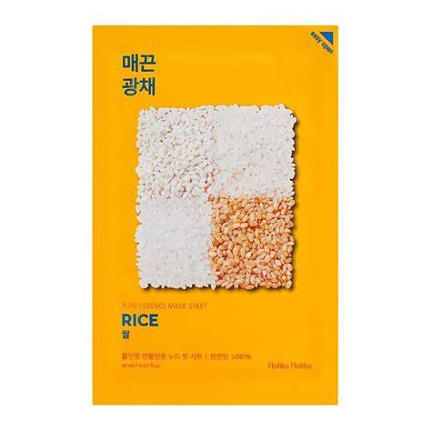Ideal Mask Sheet buy holika holika essence mask sheet rice