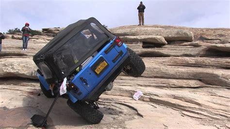 whammy rollover golden spike moab jeep wrangler