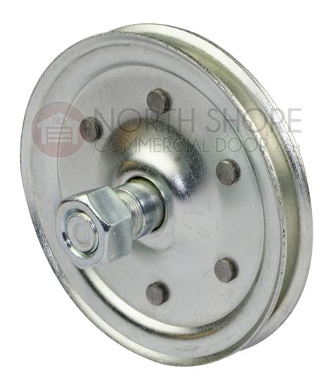 Garage Door Cable Came Pulley by Garage Door 4 Quot Sheave Pulley With Stud