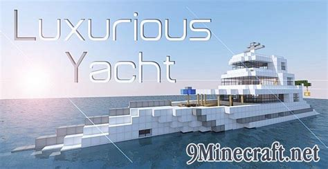 minecraft boat map 1 7 10 luxurious yacht map minecraft maps minecraft 1 8 4 1