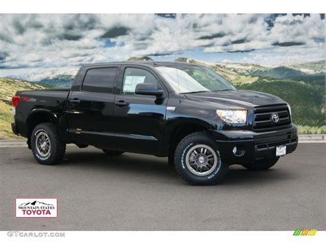 Toyota Tundra Trd Rock Warrior 2012 Black Toyota Tundra Trd Rock Warrior Crewmax 4x4